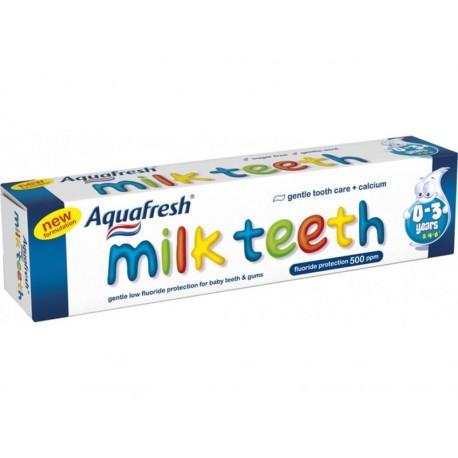 """AQUAFRESH """"MILK TEETH"""" (0-3 lat) 50ml"""