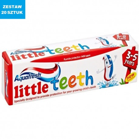 AQUAFRESH LITTLE TEETH (3-5 LAT)