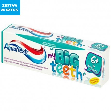 "AQUAFRESH ""my BIG TEETH"" (6+ LAT)"