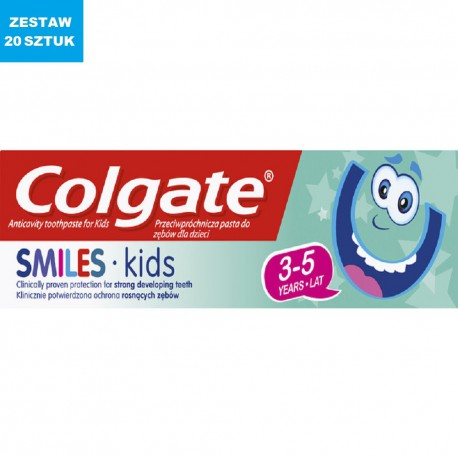 "COLGATE ""SMILES KIDS"" (3-5 lat) 50ml"