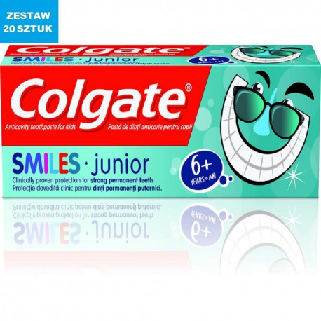 "COLGATE ""SMILES JUNIOR"" ( 6+ lat) 50 ml"