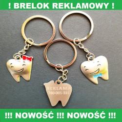 BRELOKI REKLAMOWE  - 100 SZT.