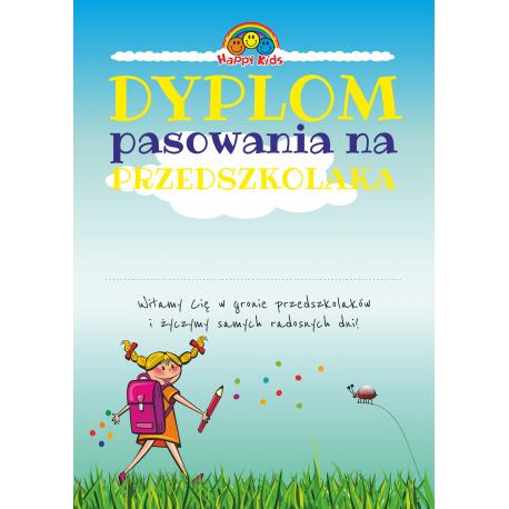 """DYPLOM """"PASOWANIE NA PRZEDSZKOLAKA"""" - 24 SZTUK"""