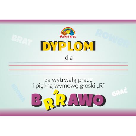 """Dyplom Logopedyczny """"Głoska R"""""""
