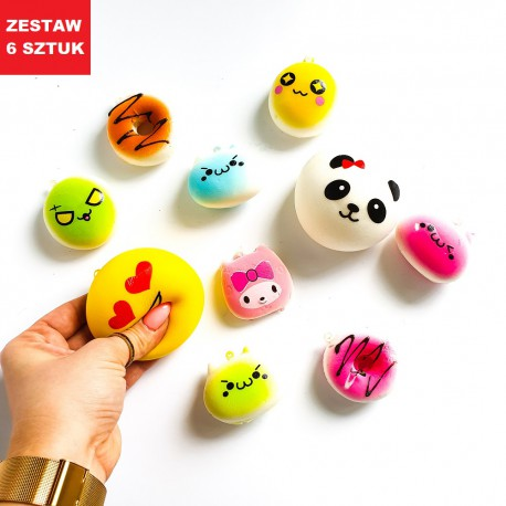 "BRELOK SQUISHY ""MIX""- 6 szt."