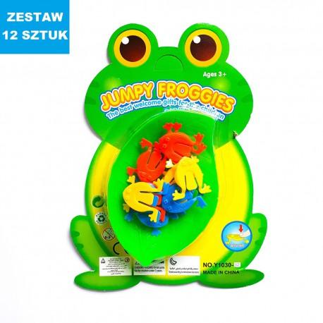 """""""SKACZĄCE ŻABKI 2"""" - 12 szt."""