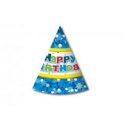 """CZAPECZKI """"HAPPY BIRTHDAY-2""""- 6 szt."""