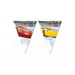 "BANER FLAGI ""CARS""- 230 CM - 1 SZT."