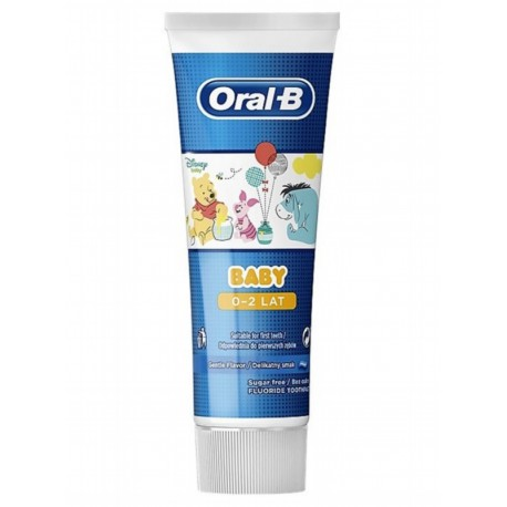 "ORAL-B BABY ""KUBUŚ PUCHATEK"" PASTA DO ZĘBÓW 75 ML"