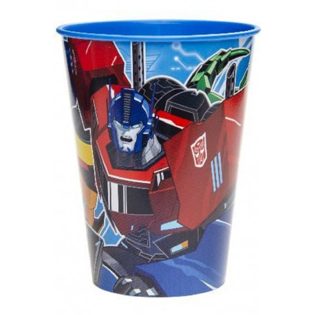 "KUBEK PLASTIKOWY ""TRANSFORMERS"" - 260 ML"