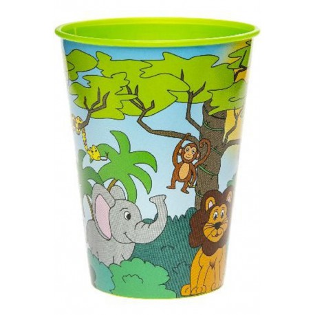 "KUBEK PLASTIKOWY ""JUNGLE"" - 260 ML"