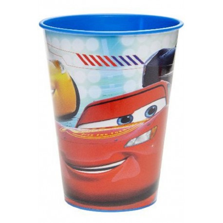 "KUBEK PLASTIKOWY ""CARS 3"" - 260 ML"
