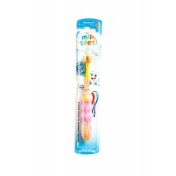AQUAFRESH MILK TEETH TOOTHBRUSH (0-2 LAT) - 1SZT.(rózowy)
