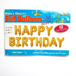 "BALONY FOLIOWE ""HAPPY BIRTHDAY-1"""