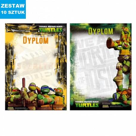 "DYPLOMY ""NINJA TURTLES""- 10 szt."