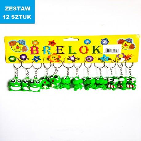 """BRELOKI """"ŻABKI 4""""- 12 szt."""