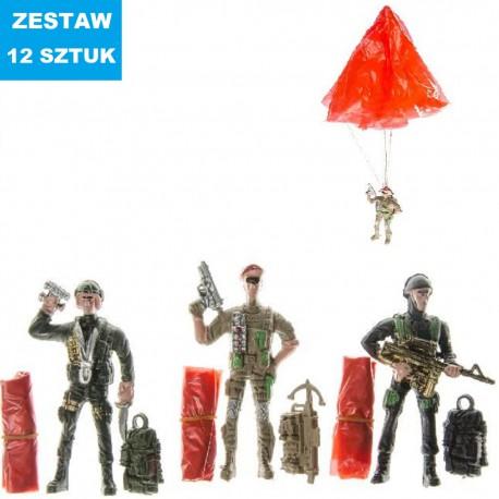 ŻOŁNIERZE-SPADACHRONIARZE -  12 szt.