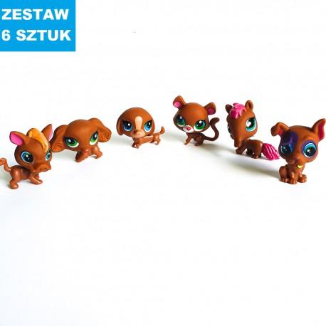 """MAGICZNE ZWIERZĄTKA """"ZESTAW-1""""- 6 szt."""