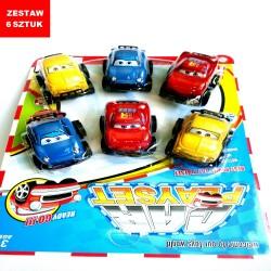 """CARS  """"ZESTAW 1""""- 6 szt."""