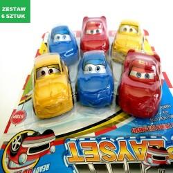 """CARS  """"ZESTAW 2""""- 6 szt."""