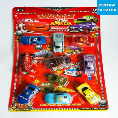 """CARS  """"ZESTAW 3"""" - 10 szt."""